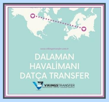 Dalaman havalimanı datça transfer