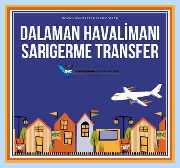 Dalaman havalimanı sarıgerme transfer
