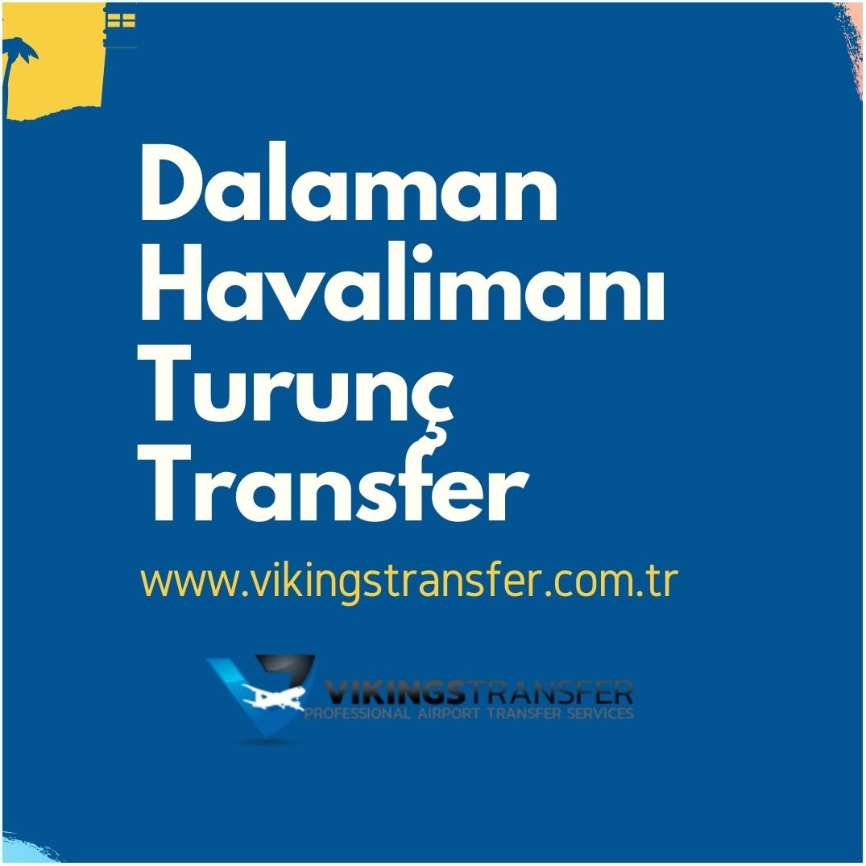 Dalaman havalimanı turunç transfer